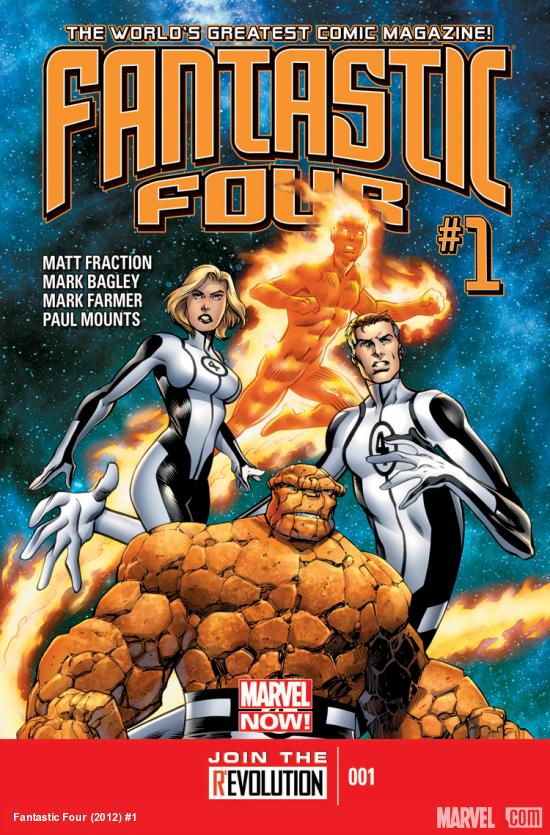 Fantastic Four 2012 Cover #1