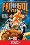 Fantastic Four 2012 Cover #1