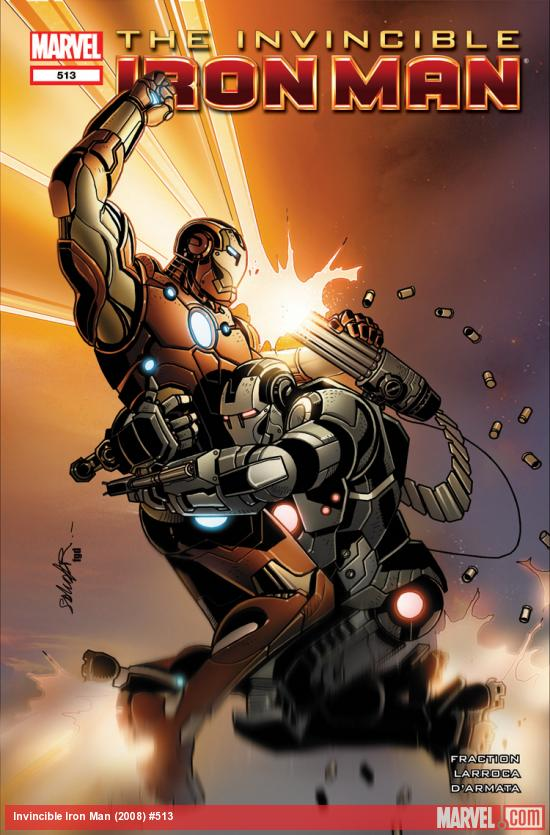 Invincible Iron Man (2008) #513