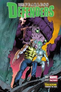 Fearless Defenders #5  (Wolverine Costume Variant)