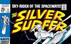 Silver Surfer (1968) #4