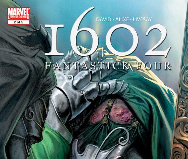 Marvel 1602: Fantastick Four (2006) #2