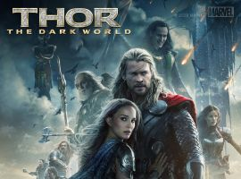 New Thor: The Dark World Poster Thunders Online