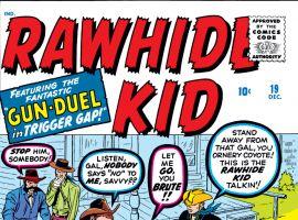 Rawhide Kid (1960) #19 Cover