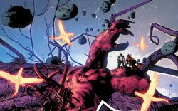 Original Sin #2 preview art by Mike Deodato