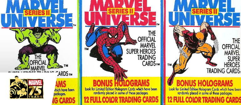 Marvel 75: Trading Cards of the 90's