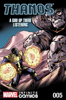 Thanos: A God Up There Listening Infinite Comic #5