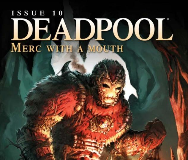Deadpool: Merc with a Mouth (2009) #10 (IRON MAN BY DESIGN VARIANT)