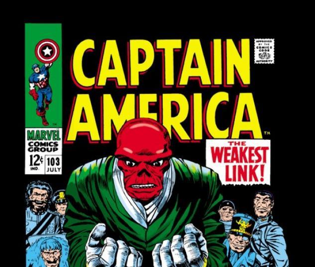 CAPTAIN AMERICA #103 COVER
