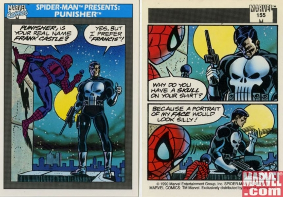 Spider-Man Presents:Punisher, Card #155