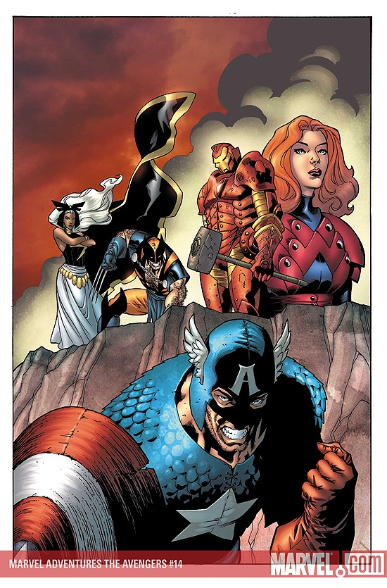 Marvel Adventures the Avengers (2006) #14