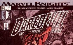 DAREDEVIL #27 (1998) cover by Alex Maleev