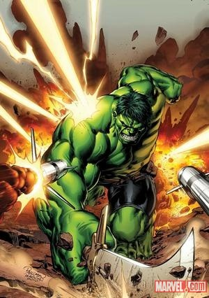 The Hulk by Carlo Pagulayan