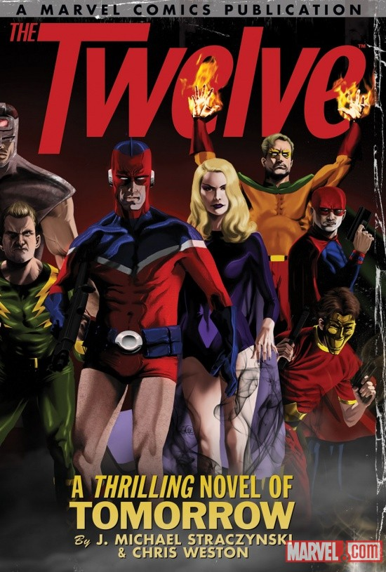 The Twelve volume one trade paperback cover by Kaare Andrews