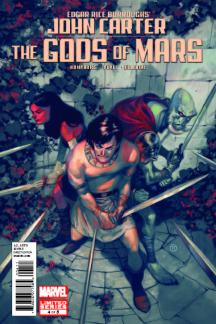 John Carter: The Gods of Mars (2011) #4