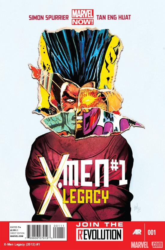 X-Men Legacy (2012) #1 cover