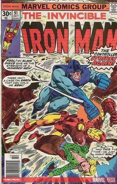 Iron Man (1968) #91 cover