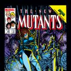 New Mutants (1983) #36 Cover