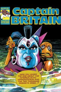 Captain Britain (1985) #12
