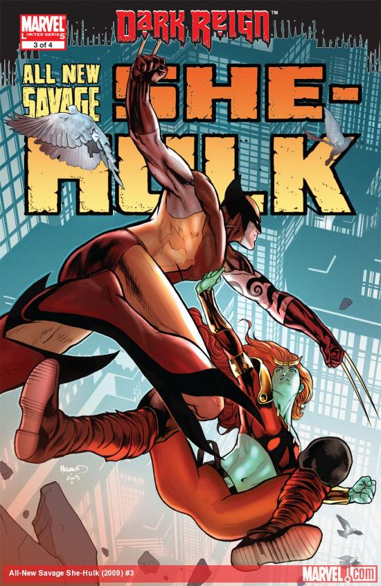 All-New Savage She-Hulk (2009) #3 Cover