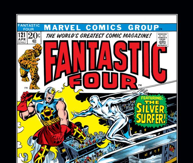 Fantastic Four (1961) #121 Cover