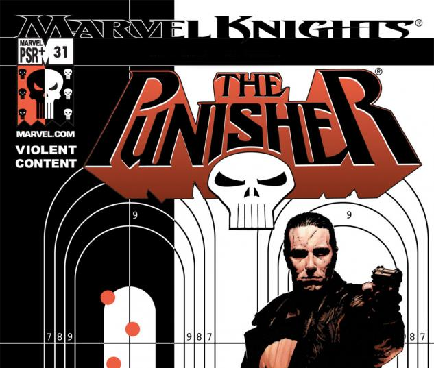 Punisher (2001) #31 Cover