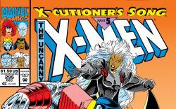 Uncanny X-Men (1963) #295 Cover