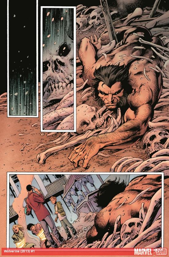 Wolverine (2013) #1 preview art by Alan Davis