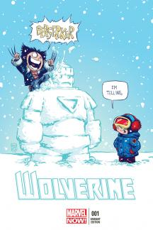 Wolverine #1  (Young Variant)