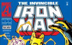 Iron Man (1968) #322 Cover