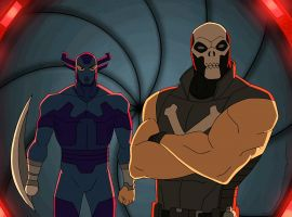Iron Man & Captain America infiltrate the Cabal as Grim Reaper & Crossbones in Marvel's Avengers Assemble