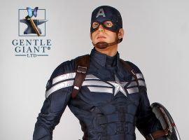 Captain America Stealth Statue