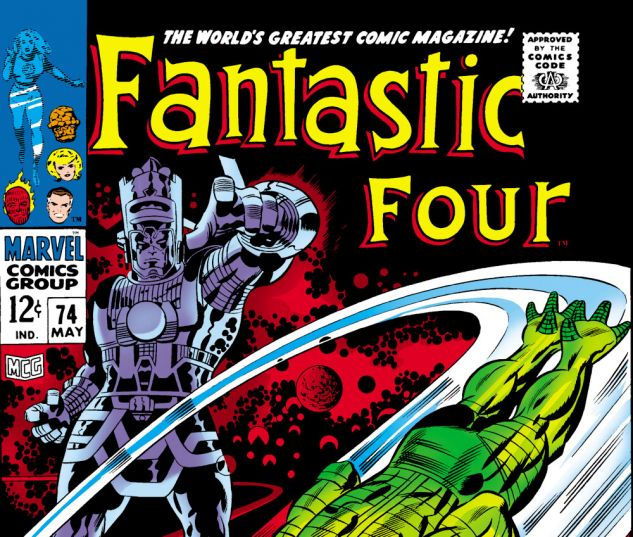 Fantastic Four (1961) #74 Cover