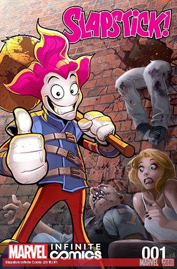 Slapstick Infinite Comic (2016) #1