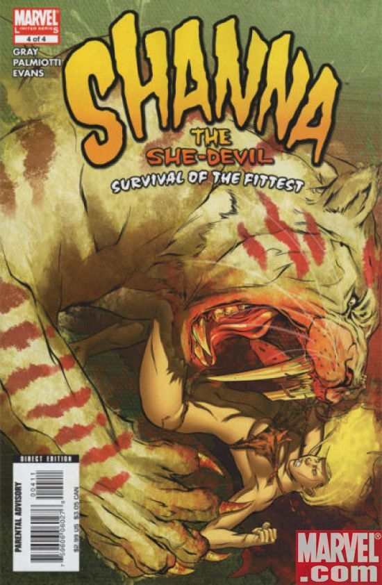 SHANNA THE SHE-DEVIL: SURVIVAL OF THE FITTEST #4