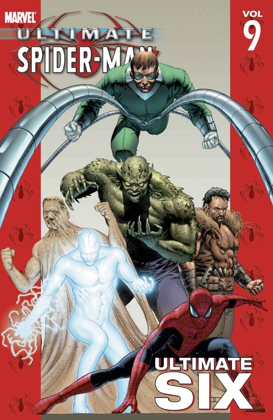 ULTIMATE SPIDER-MAN VOL. 9: ULTIMATE SIX TPB COVER