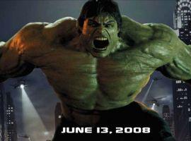 Incredible Hulk outdoor movie poster