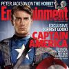 Chris Evans as Captain America on the cover of Entertainment Weekly