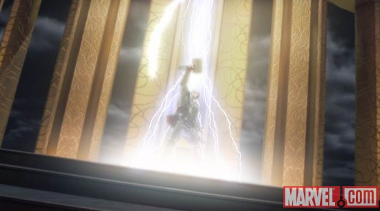 Thor: God of Thunder Prologue Trailer screenshot
