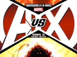 AVENGERS VS. X-MEN 12 KUBERT VARIANT (1 FOR 50, WITH DIGITAL CODE)
