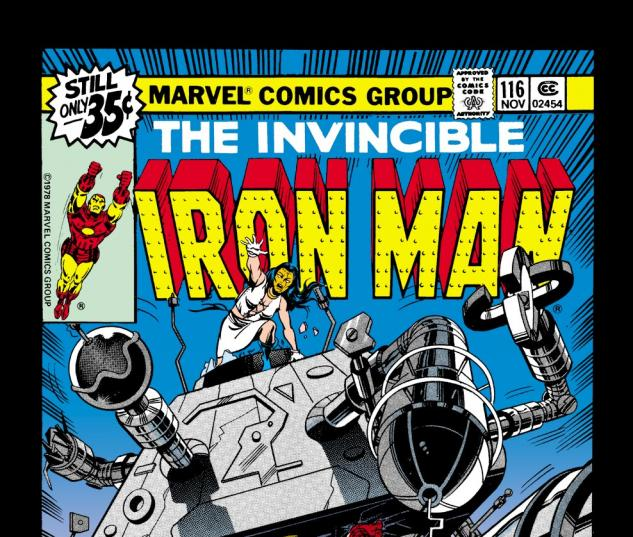 Iron Man (1968) #116 Cover