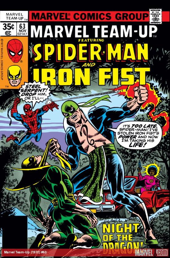 Marvel Team-Up (1972) #63 Cover