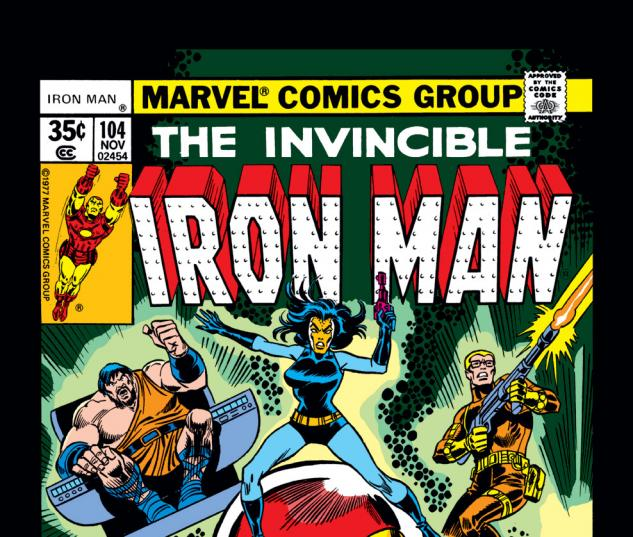 Iron Man (1968) #104 Cover