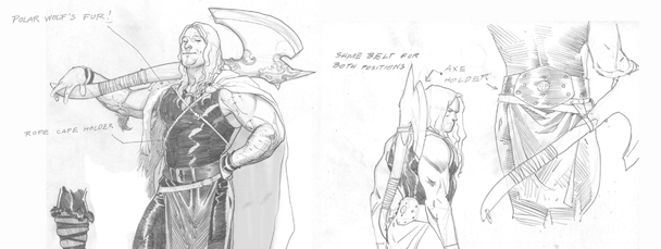 Thor: God of Thunder Sketchbook Pt. 1