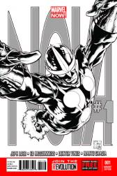 Nova #1  (Quesada Sketch Variant)