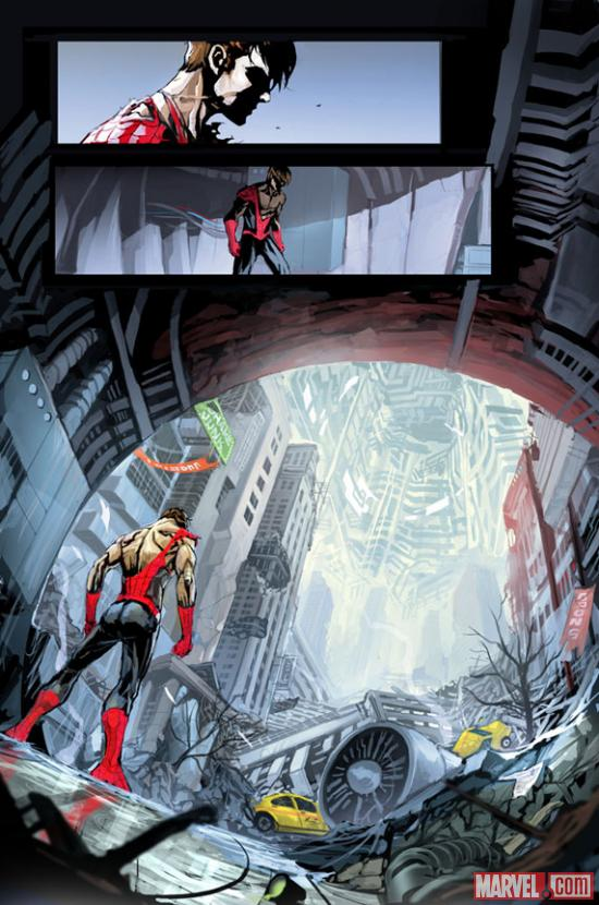Superior Spider-Man #6AU preview art by Dexter Soy
