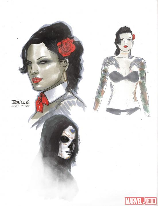 Joelle design by Clay Mann