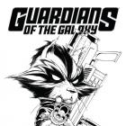 GUARDIANS OF THE GALAXY 2 QUESADA SKETCH VARIANT (NOW, 1 FOR 150, WITH DIGITAL CODE)