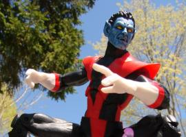 Marvel Select Nightcrawler action figure from Diamond Select Toys