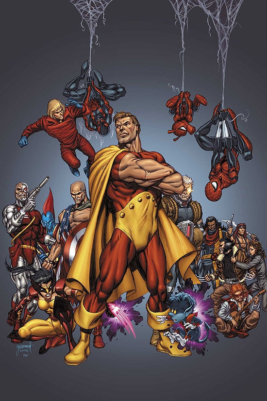 OFFICIAL HANDBOOK OF THE MARVEL UNIVERSE (2007) (ALTERNATE UNIVERSES) COVER